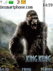 King Kong theme screenshot