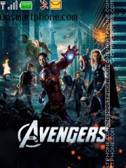 Avengers tema screenshot