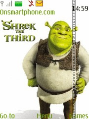 Shrek The Third es el tema de pantalla