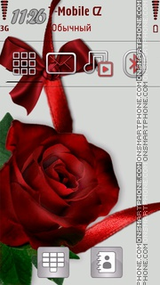 Rose tema screenshot