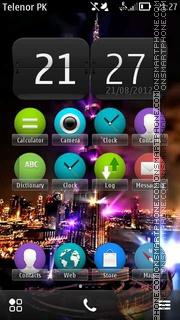 Dubai S3 theme screenshot