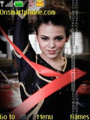 Danna Paola Gimnasta theme screenshot