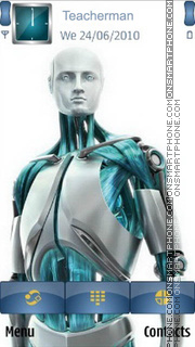 Eset Nod32 Man tema screenshot