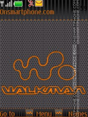 Walkman tema screenshot