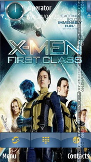 X-Men First Class es el tema de pantalla