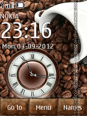 Coffee theme screenshot