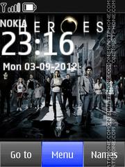 Heroes theme screenshot