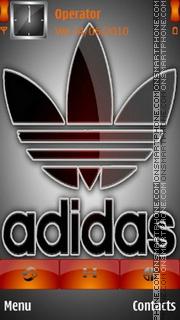 Addidas Logo theme screenshot