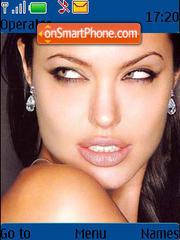 Angelina Jolie 12 theme screenshot