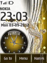 Nokia Clock Theme-Screenshot