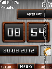 Live Clock theme screenshot