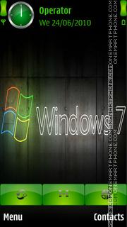 Windows 7 Neon Colours Theme-Screenshot