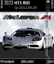 McLaren-F1 theme screenshot