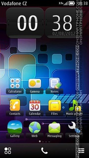 Hi Tech Nokia theme screenshot