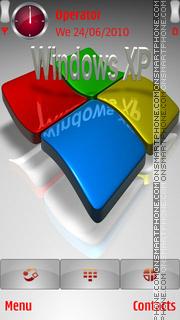 Windows XP Logo es el tema de pantalla