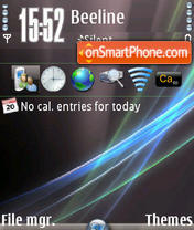 Strands (Vista Ultimate) theme screenshot