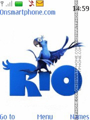Rio theme screenshot