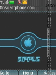 Apple tema screenshot