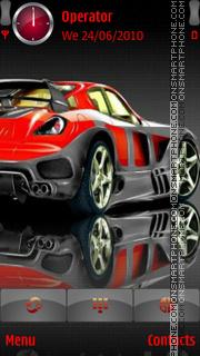 Red - Car - 2020 theme screenshot