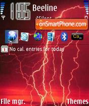 Lightning Theme-Screenshot