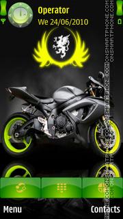 Motor Bike theme screenshot