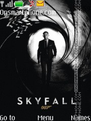 Sky Fall theme screenshot