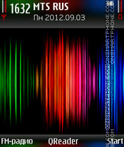 Spectrum theme screenshot