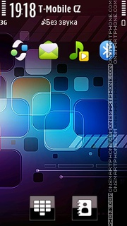 Nokia Tech Hd theme screenshot