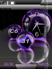 Balls tema screenshot
