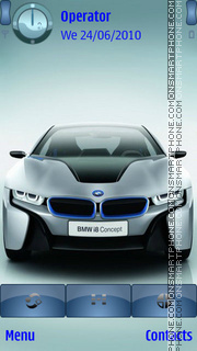 BMW i8 Concept theme screenshot