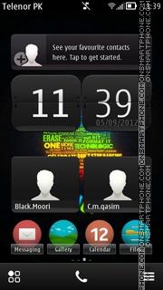 Apple Belle theme screenshot