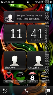 Nokia V1 theme screenshot