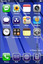 Скриншот темы Blue Style