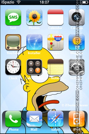 Homer theme screenshot