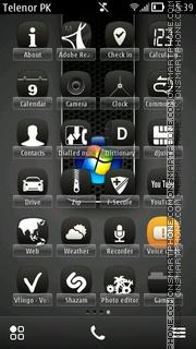 Vista Belle tema screenshot