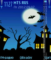 Bat theme screenshot