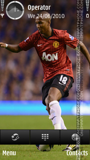 Ashley Young 18 theme screenshot
