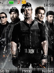 Expendables 2 theme screenshot