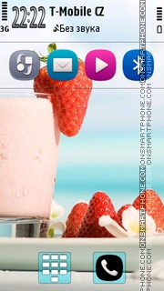 Strawberry Cocktail Theme-Screenshot