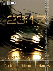 Rain theme screenshot