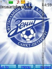 FC Zenit 03 theme screenshot