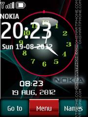Dark Nokia Dual theme screenshot
