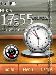 Скриншот темы 3d Forms Clock
