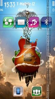 Guitar 19 es el tema de pantalla