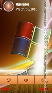 Скриншот темы Windows Xp Logo