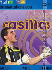 Casillas theme screenshot