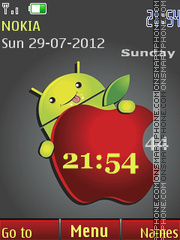 Funny android tema screenshot