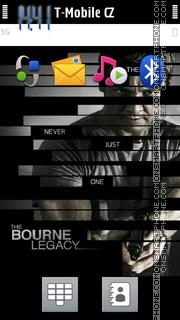 Bourne Legacy es el tema de pantalla