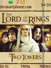 The Lord of the Rings - The Two Towers tema screenshot