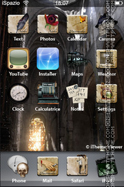 Goth 01 theme screenshot